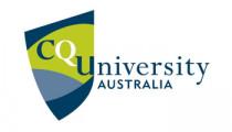 Logo for Central Queensland University Australia