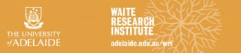 Logo for Waite Research Institute (WRI) at The University of Adelaide (UA)