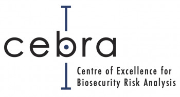 Logo for Centre of Excellence for Biosecurity Risk Analysis (CEBRA)