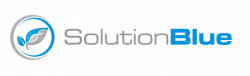 Logo for Solution  Blue – insect-production and manufacturing investment and partnership opportunity